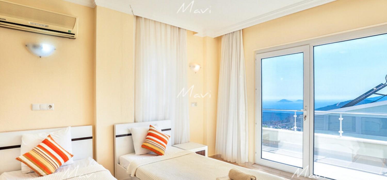 4 Bedroom Fully furnished Detached Villa for Sale in Kalkan,DVL815