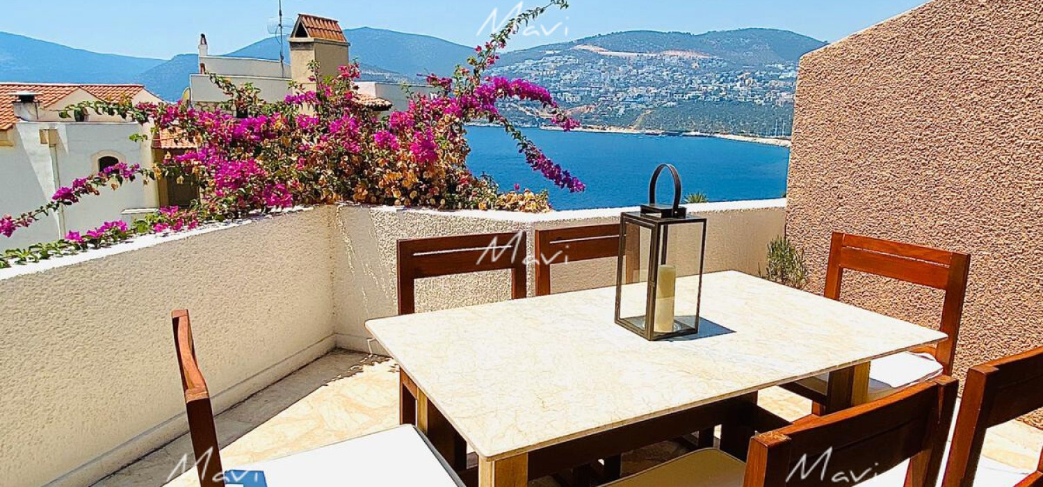Large One Bedroom Club Patara Apartment for Sale in Kalkan, CP645