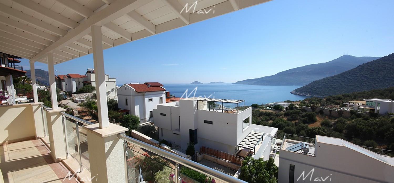 Five Bedroom Modern Villa for Sale Near Seafront in Kalkan, DVL776