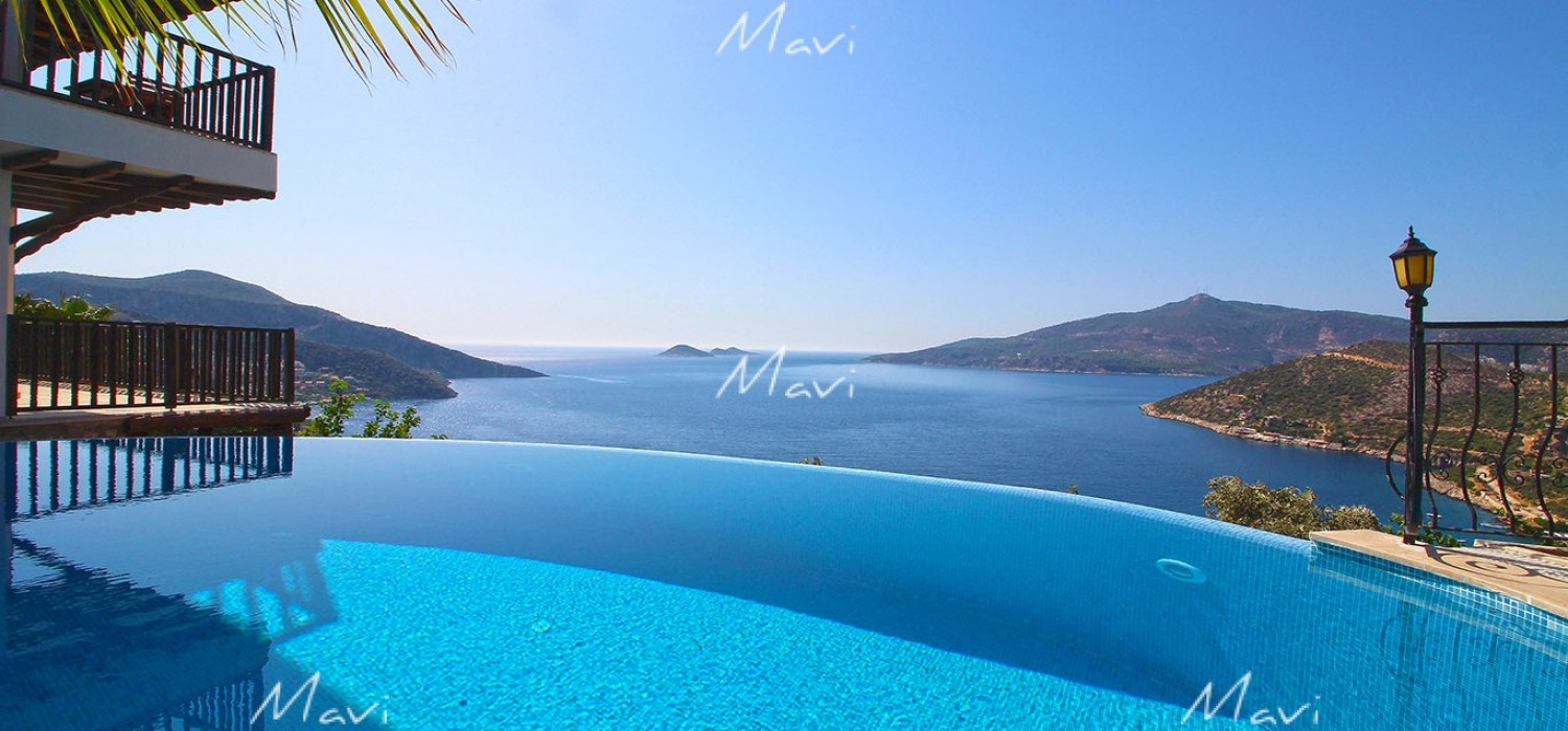 Luxury Detached Villa for Sale in Kalkan with Exceptional Location, LV757