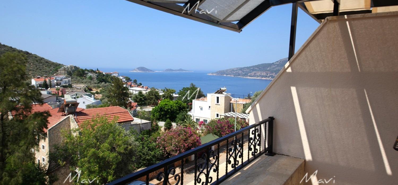 Five Bedroom Fully Furnished Villa for Sale in Kalamar,Kalkan DVL778