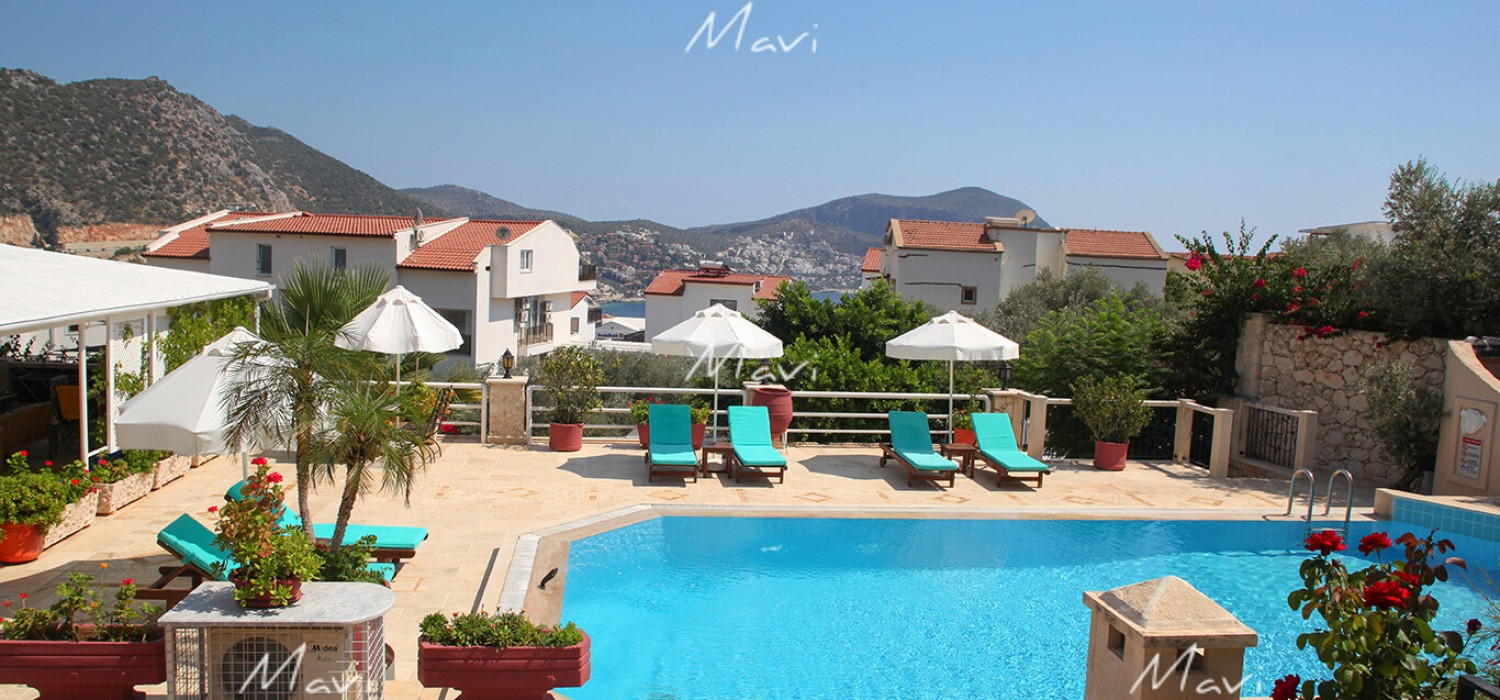 Luxury Fully Furnished Two Bedroom Apartment in Kalkan Town Centre,DA785