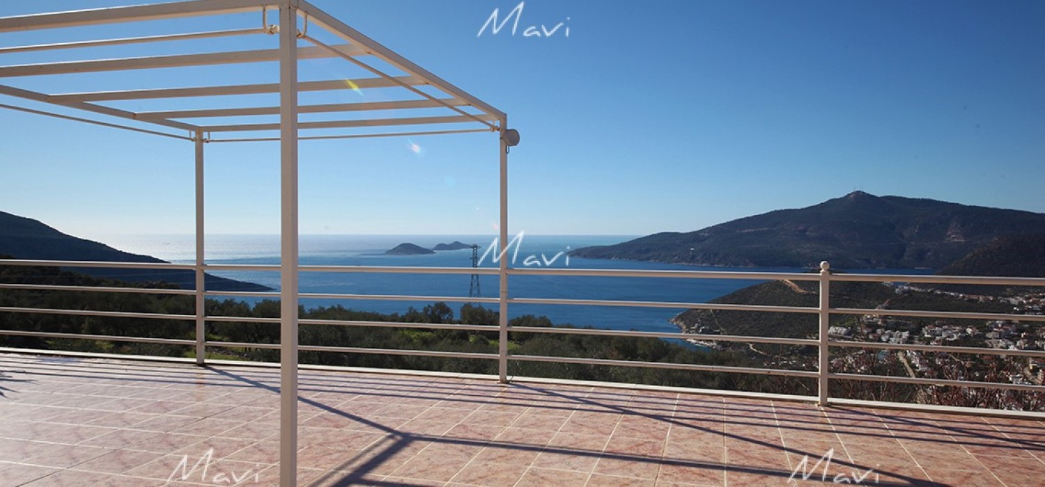 Deluxe Villla for Sale in Kalkan DVL655