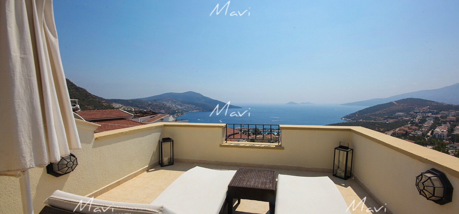 Two Bedroom Apartment for Sale with Gorgeous Views in Kalkan, DA787
