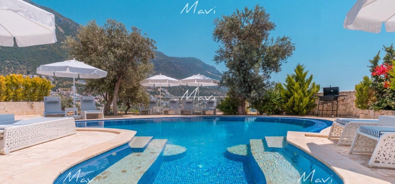 Five Bedroom Large Villa in Ortaalan area in Kalkan for Sale, DVL794