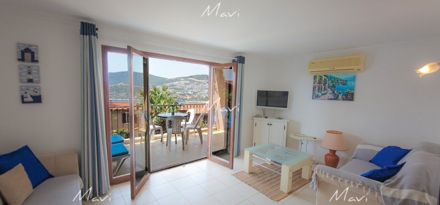 One Bedroom Fully Furnished Apartment with Seaviews in Club Patara, Kalkan, AP772