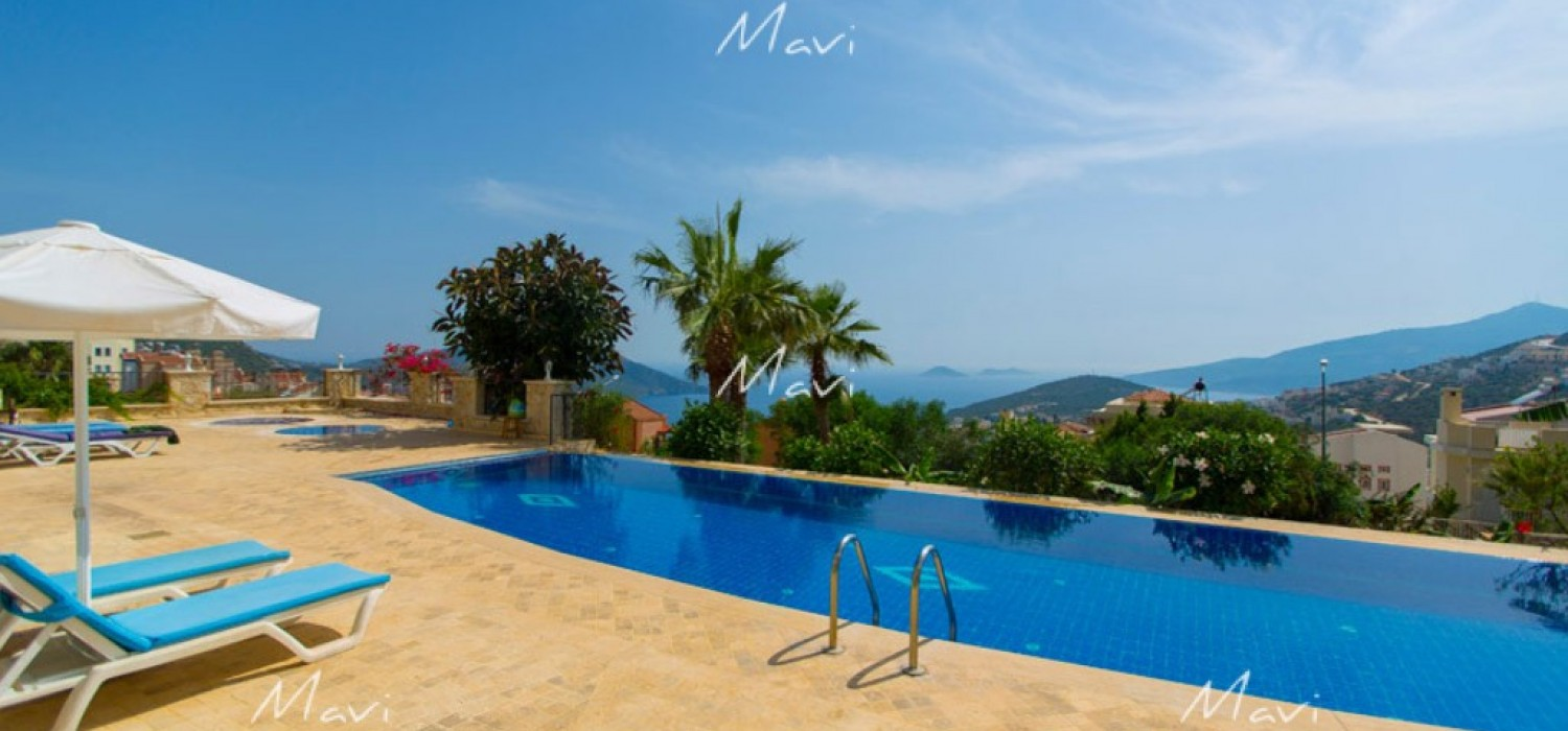 Spacious, Fully Furnished, Two Bedroom Duplex Apartment for Sale in Kalkan,DA763