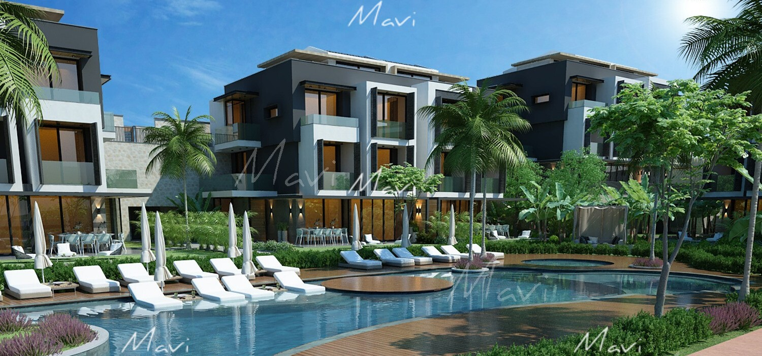 Brand New Apartments with new Concept in Kalkan, DA827