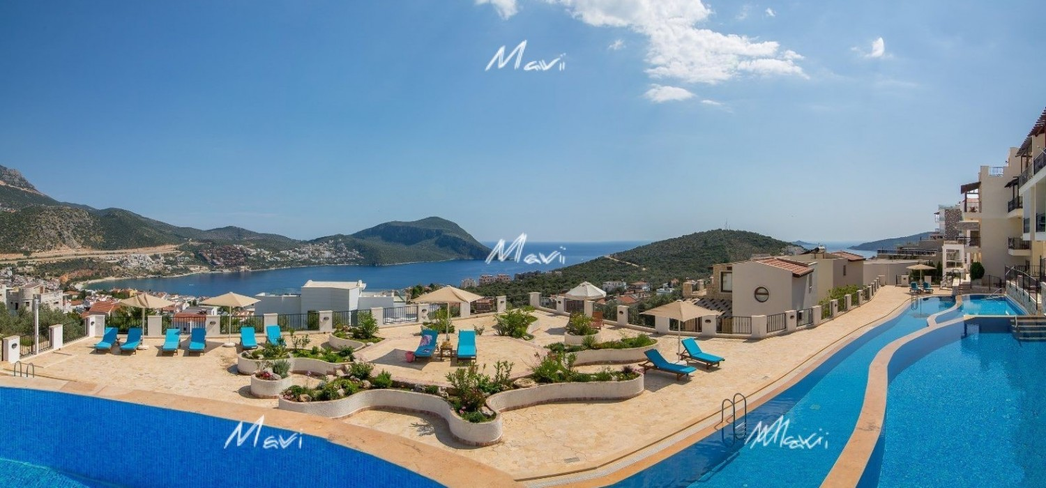 Two Bedroom, Two bathroom Apartment for Sale at Elvina Complex in Kalkan, DA742