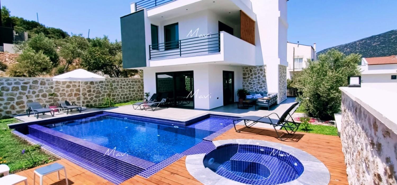 3 Bedroom Detached Off Plan Villa in Kalamar, Kalkan,DVL730