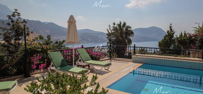 4 Bedroom Detached Villa in Ortaalan Area for Sale, Kalkan DVL736