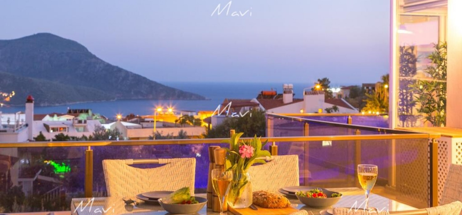 Luxury Apartment with Private Pool in Kalkan Town Centre, DA846