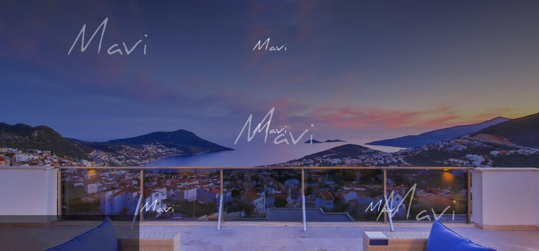 Five Bedroom Fully Furnished Modern Villa for Sale in Kalkan, LV801